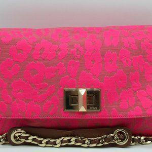 Juicy Couture Pink Animal Print Shoulder Bag